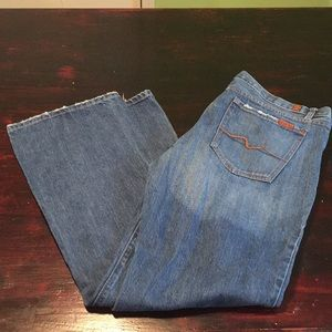 7 for all mankind size 36 bootcut jeans.